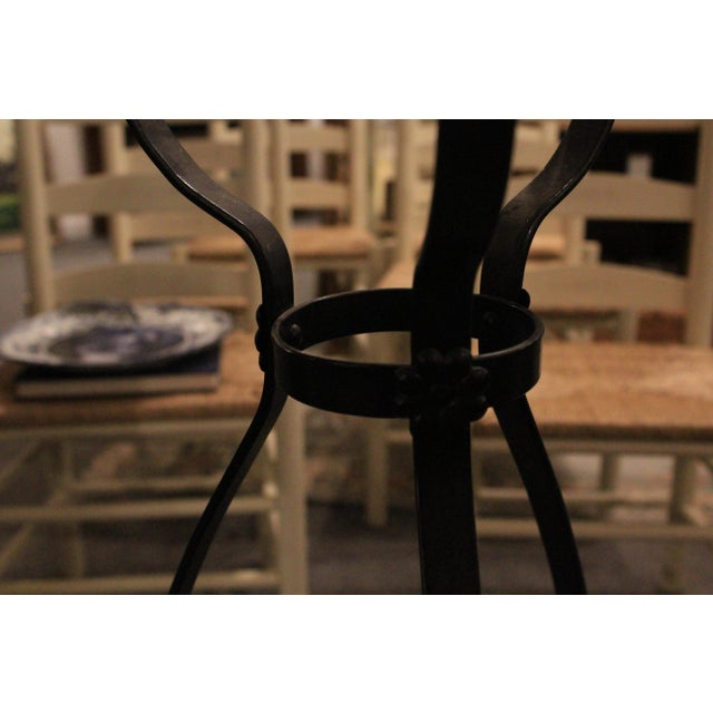 Black Cast Iron Plant Stand For Sale In New York - Image 6 of 9