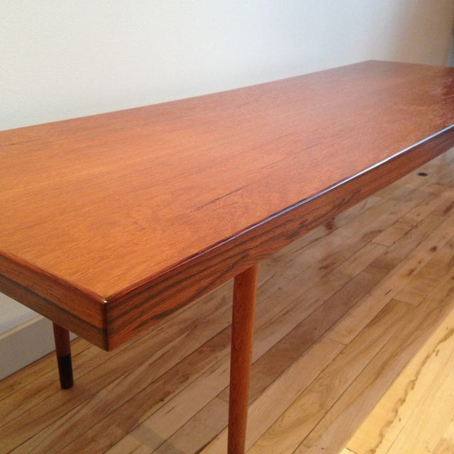Danish Modern Coffee Table - Image 4 of 5