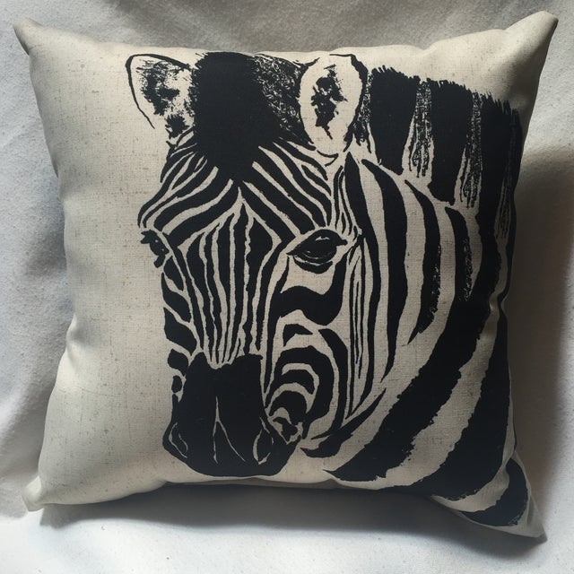 Zebra Print Pillow - Image 3 of 7