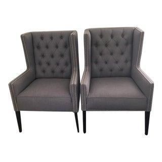"""Kravet """"Ensemble"""" Chairs - A Pair"""