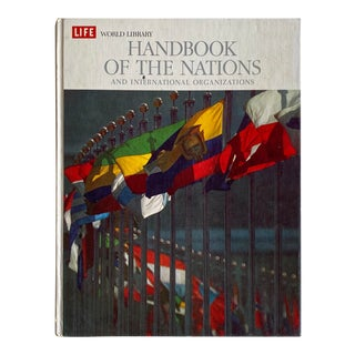"Vintage 1966 Life World Library ""Handbook of the Nations and International Organizations"" Hardcover Book For Sale"