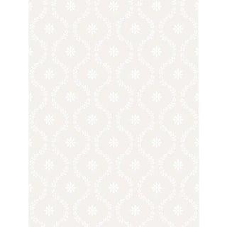 Cole & Son Clandon Wallpaper Roll - Snow For Sale