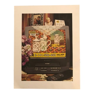 Gallery Wall Art Gucci Chinoiserie & Shopping Television Print