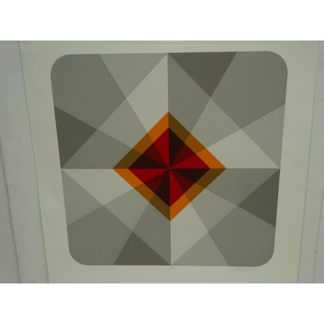 """Americana Limited Numbered (18/60) Signed Print """"Oribus Iv"""" Mike Kutchner For Sale - Image 3 of 6"""