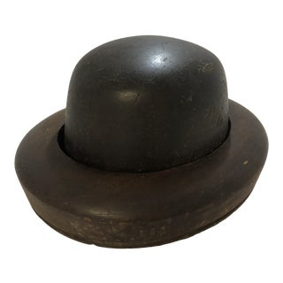 Antique Wooden Hat Mold / Form Hat Display for Decor For Sale