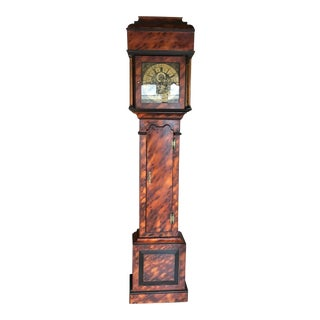 18th Century Antique English Tall Case Clock For Sale