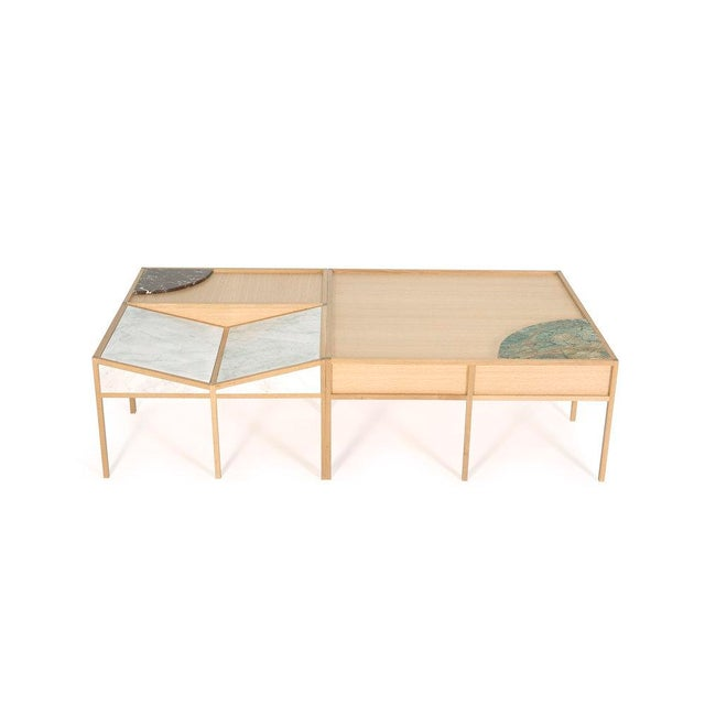 Brown Bookscape Coffee Table For Sale - Image 8 of 8