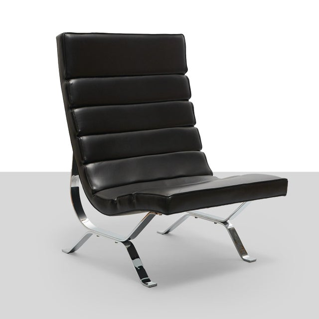 George Nelson Lounge Chair for Herman Miller A high back lounge chair designed by George Nelson for Herman Miller. Model...