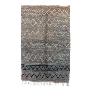 "BENI M'RIRT Moroccan Rug,, 5'3"" x 8'2"" feet / 160 x 250 cm"
