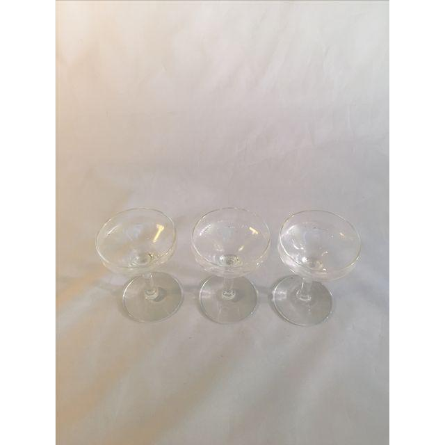 Vintage Champagne Coupes - Image 4 of 6