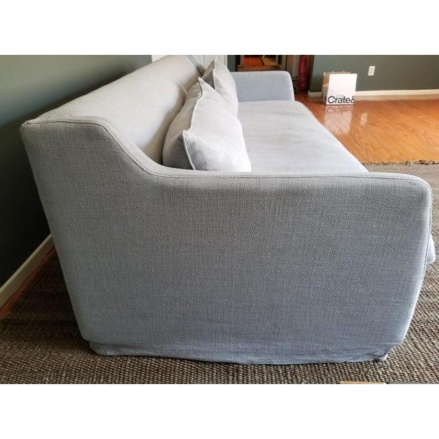 slipcover works vintage in armchair news custom ektorp linen comfort bridges kendall lino australia