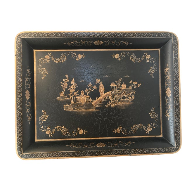 John Richard Chinoiserie Serving Tray - Image 1 of 3