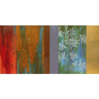 """Trujillo Contemporary Abstract Canvas """"Flit"""" For Sale"""