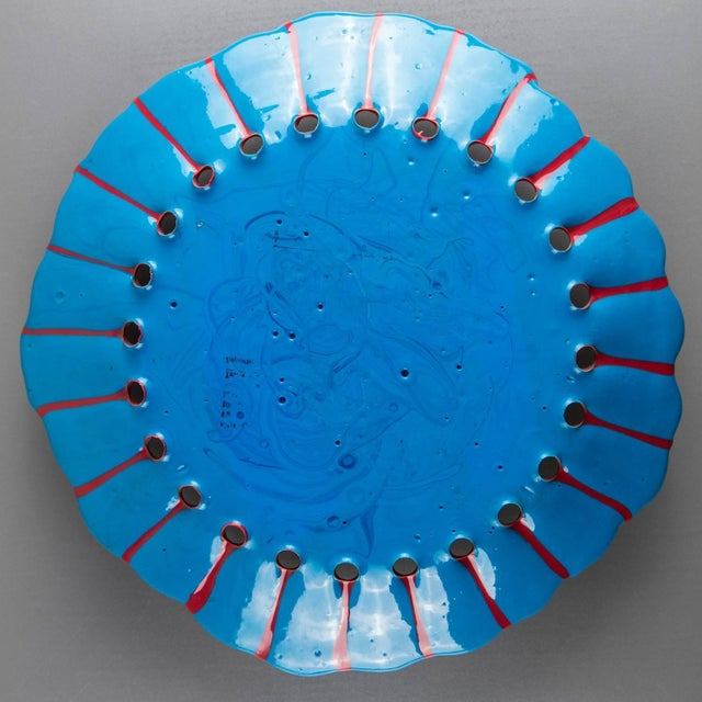 1990s One-Off Centerpiece by Gaetano Pesce For Sale - Image 5 of 8