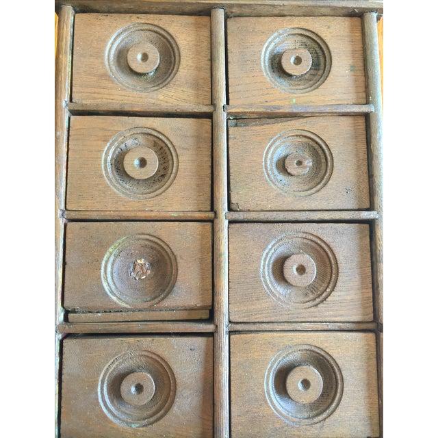 Antique Rustic Spice Box - Image 8 of 8