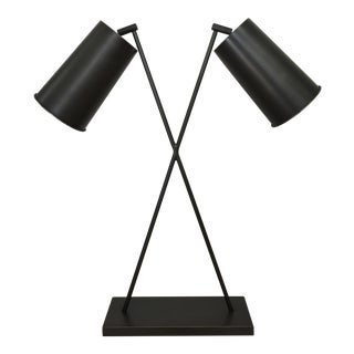 Vincent Collin Style X-Shape Table Lamp