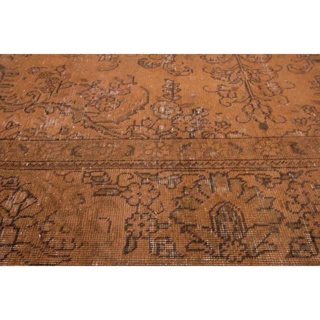 "Islamic Apadana - Vintage Overdyed Rug, 12'6"" X 9'4"" For Sale - Image 3 of 6"