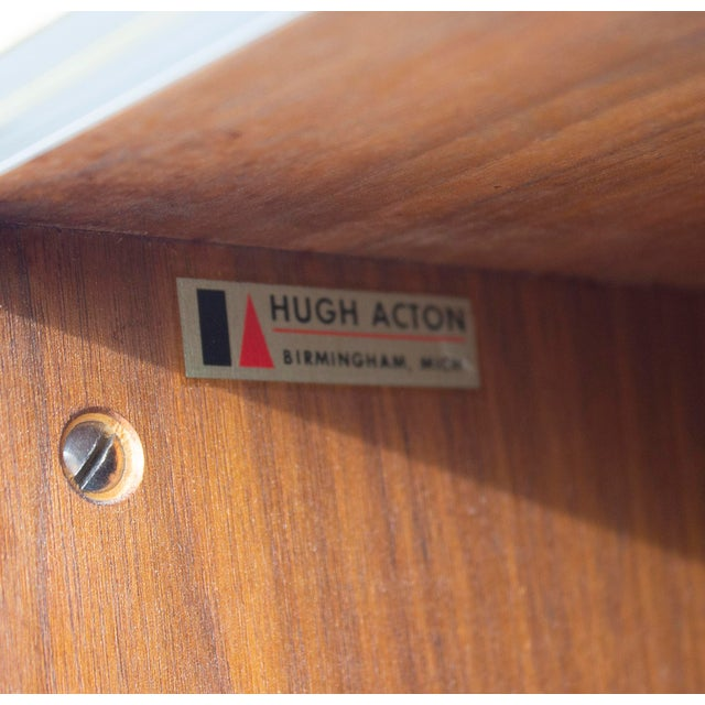 Mid-Century Modern Walnut and Aluminum Cabinet by Hugh Acton For Sale - Image 3 of 13