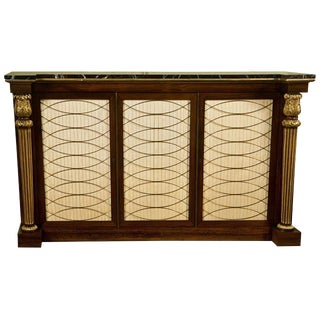 Regency Style Rosewood Cabinet Server For Sale