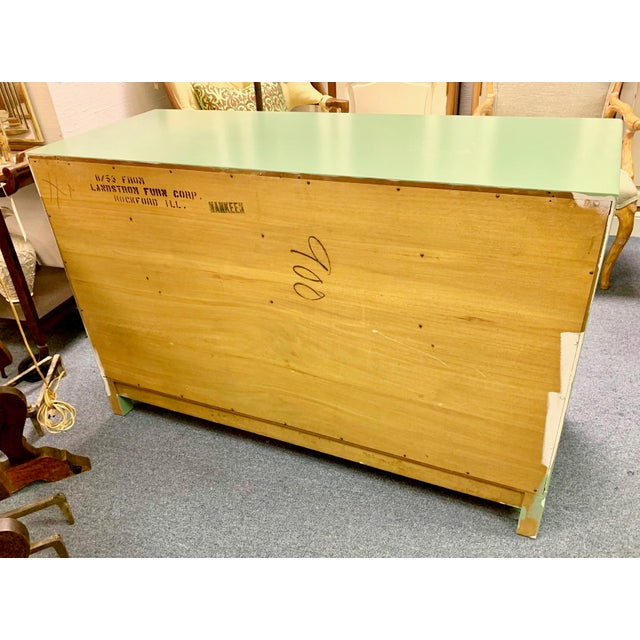 1960s Landstrom Furniture Co. Chinese Chippendale Sideboard For Sale - Image 11 of 13