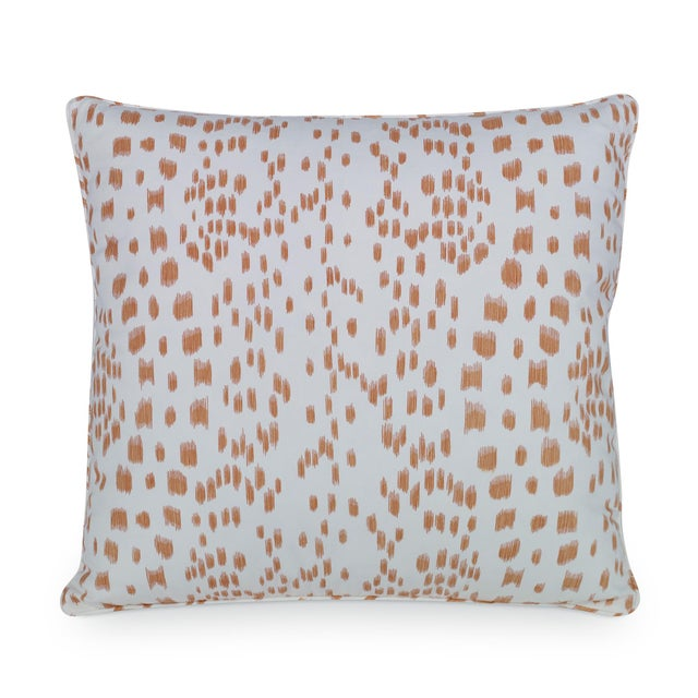 """Measures 20""""H X 20""""L. A decorative accent pillow in Brunschwig & Fils 8012138.12. Made of 100% cotton. Sewn and finished..."""