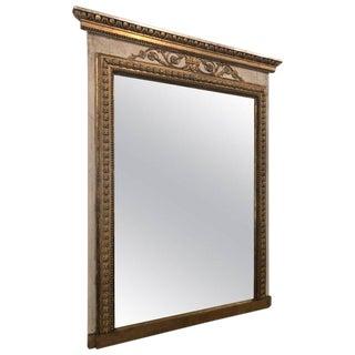 Antique Swedish Gustavian Trumeau Mirror Early 19th Century