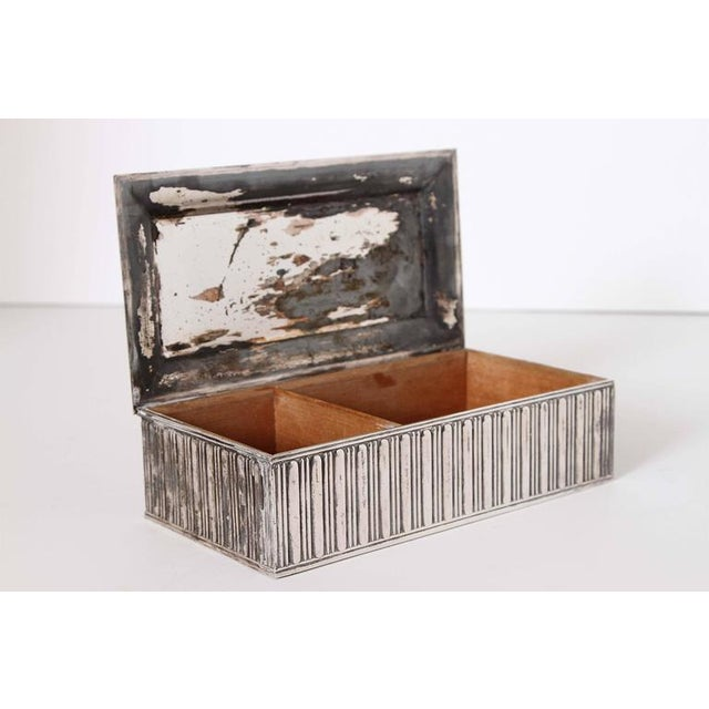 "Art Deco Barbour Silver Co ""Special Line"" Modernist Box by Albert Feinauer 1929 For Sale In Dallas - Image 6 of 11"