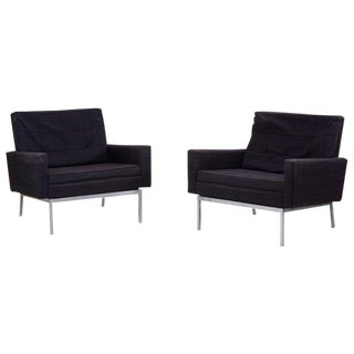 Pair of Lounge Chairs Model 25bc by Florence Knoll in Original Condition For Sale