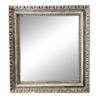 Italian Carved Mirror For Sale