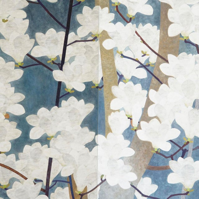 Japanese Floral Screen - Image 2 of 4