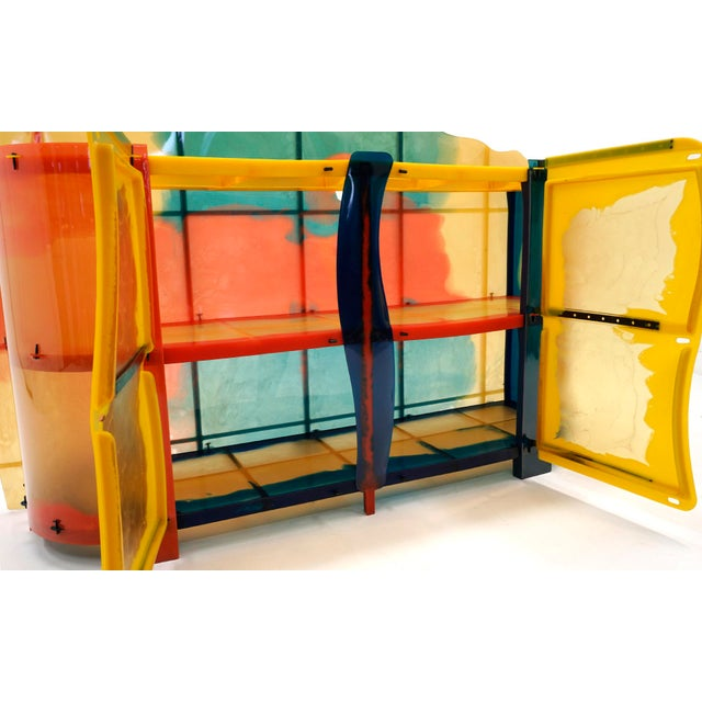 "2000 - 2009 Gaetano Pesce ""Nobody's Perfect"" Multi-Color Resin Sideboard For Sale - Image 5 of 13"