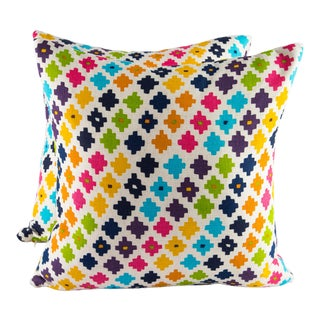 "18"" X 18"" Andrew Martin Serengeti Down Pillows For Sale"