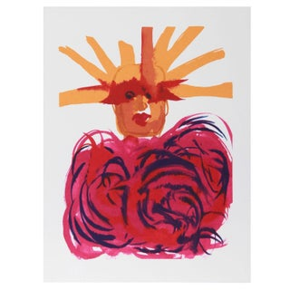 Vick Vibha Statue of Liberty Serigraph For Sale
