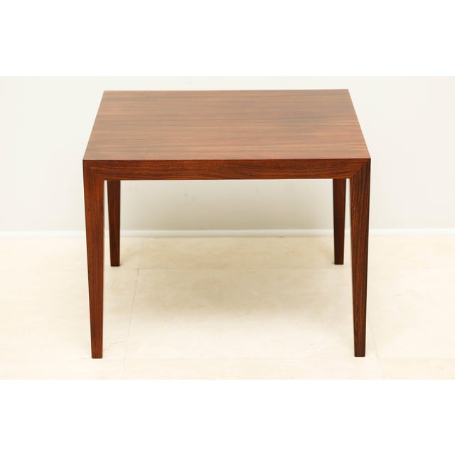 Rosewood side/end table from Denmark.