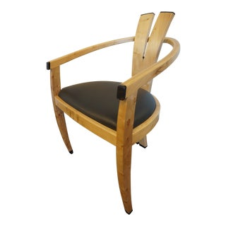 Early 21st Century Maple & Ebony Dining Chair For Sale