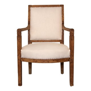 18th Century French Arts & Crafts Beechwood Side Chair