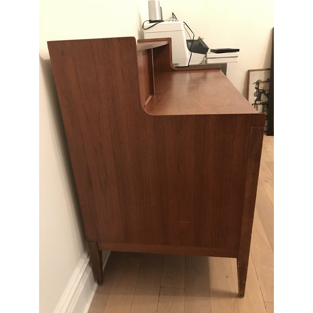 Cavalier Mid-Century Walnut Desk - Image 8 of 8