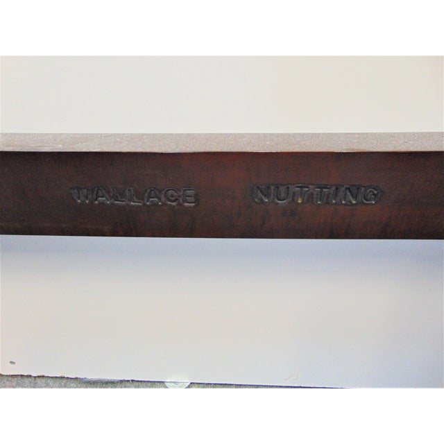 Wallace Nutting Hepplewhite Mahogany Full Size Poster Bed For Sale In Philadelphia - Image 6 of 8