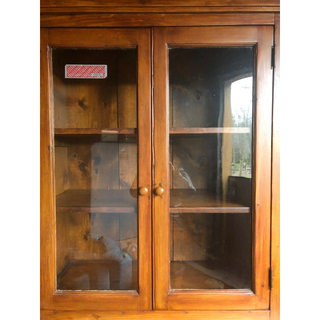 Country Kitchen Cupboard Cabinet With Lots of Storage For Sale - Image 10 of 12