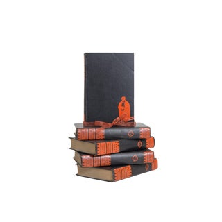 Onyx and Rust Edgar Wallace Gift Set, (S/5) For Sale