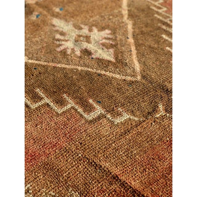 1950s Turkish Oushak Wide Runner For Sale - Image 10 of 13