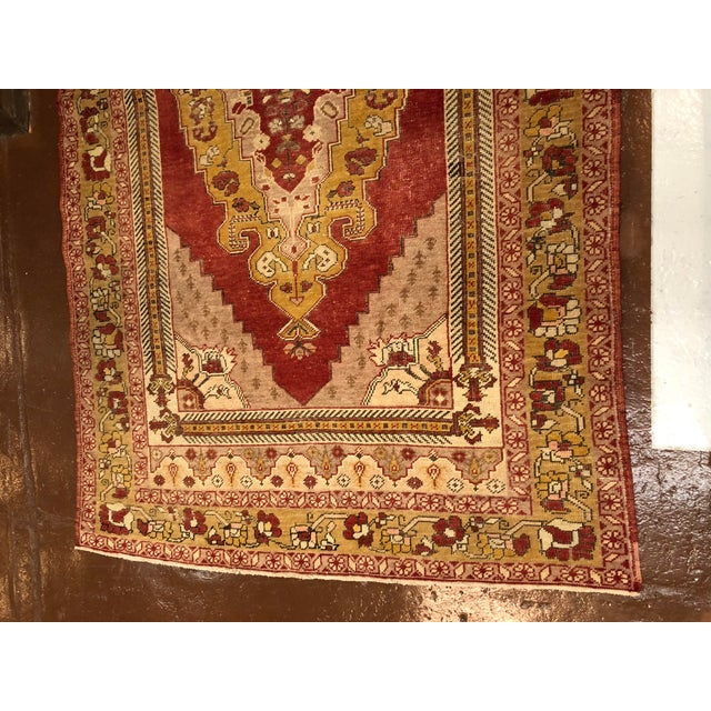 Turkish Wool Oushak Rug For Sale - Image 4 of 5