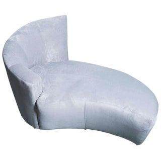 Late 20th Century Vladimir Kagan Ultrasuede Lounge Chair For Sale