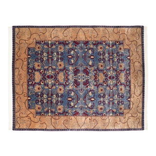 Vintage Indian Arts and Crafts Design Carpet - 8' X 10' For Sale