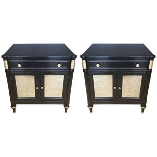 Kindel Mirrored Nightstands - A Pair For Sale