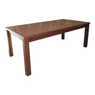 Hudson Furniture Walnut Dining Table + 2 Extensions