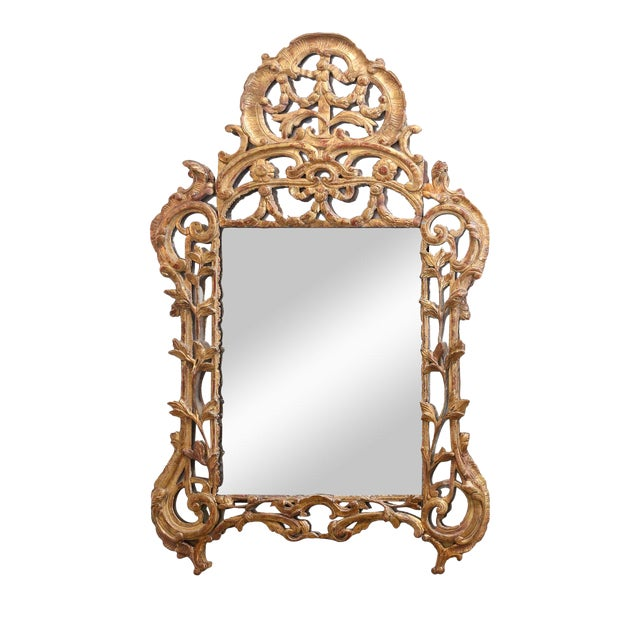 Regence Period Giltwood Mirror For Sale