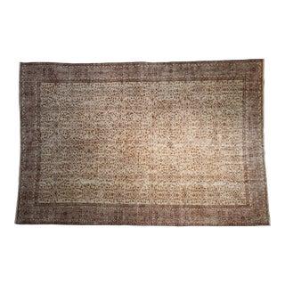 "Vintage Distressed Sparta Carpet - 6'9"" X 10'1"" For Sale"