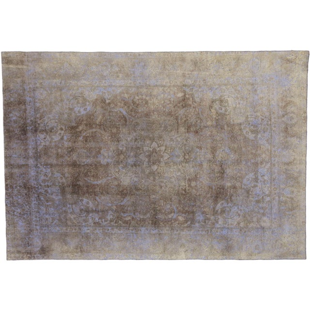 Distressed Vintage Turkish Rug - 07'08 X 11'02 For Sale In Dallas - Image 6 of 6
