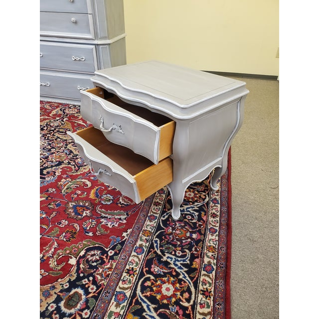 Union National Painted Nightstand For Sale - Image 4 of 13